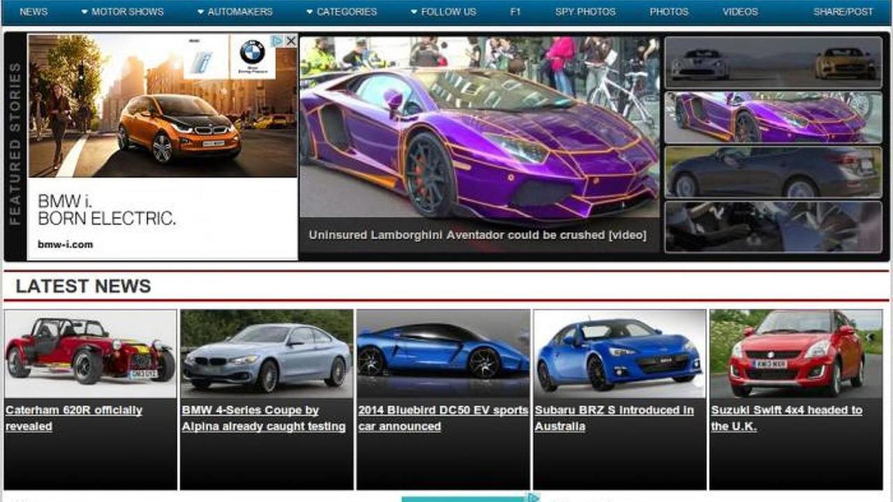 WCF 2013 design refresh screenshot