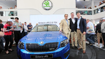 2013 Skoda Octavia RS debuts at Goodwood Festival of Speed [video]
