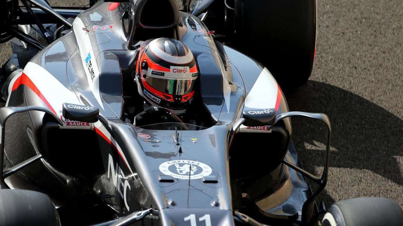Nico Hulkenberg 02.11.2013 Abu Dhabi Grand Prix