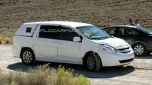 2010 Toyota Sienna Spy Photos