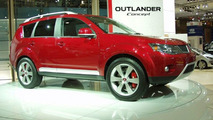 Mitsubishi Outlander Concept at Paris