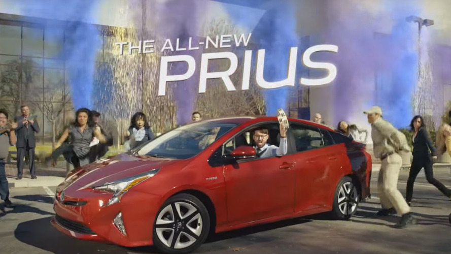 2016 Toyota Prius stars in new Super Bowl commercial [video]
