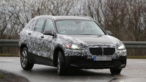 BMW X1 plug-in hybrid spied, likely badged Zinoro