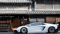Tuner adds gigantic rear wing on Lamborghini Aventador