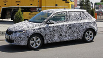 Third generation Skoda Fabia spied near the Nurburgring