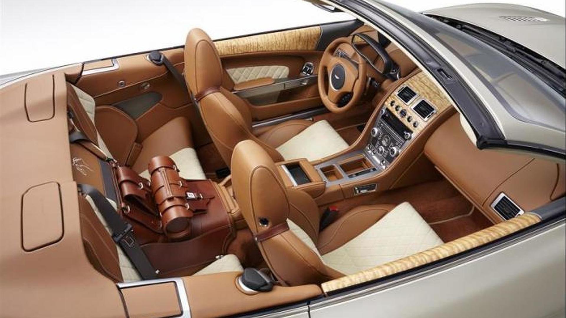 Q by Aston Martin applies equestrian theme on DB9 Volante