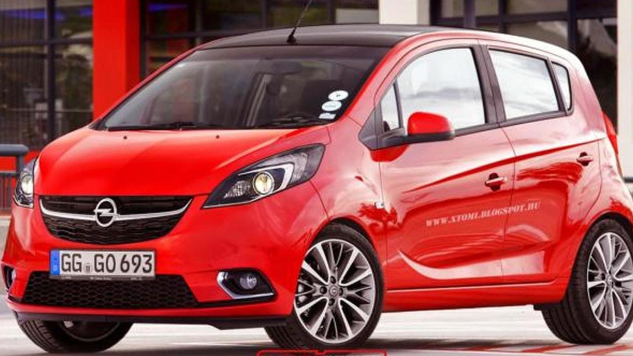 2015 Opel Karl render