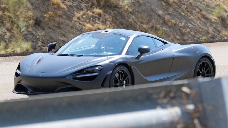 McLaren P14 spy photos