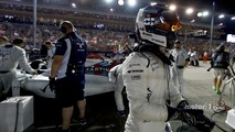 Valtteri Bottas, Williams Martini Racing, on the grid