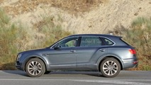 2017 Bentley Bentayga diesel spy photo