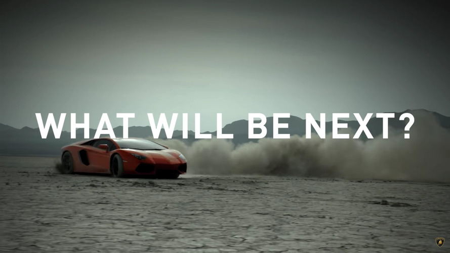 Lamborghini teaser about V12 engine is intriguing