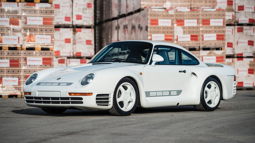 Rare Porsche 959 Sport targets €2 million, no reserve