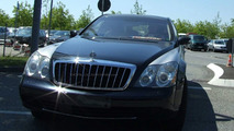 Maybach Facelift spied