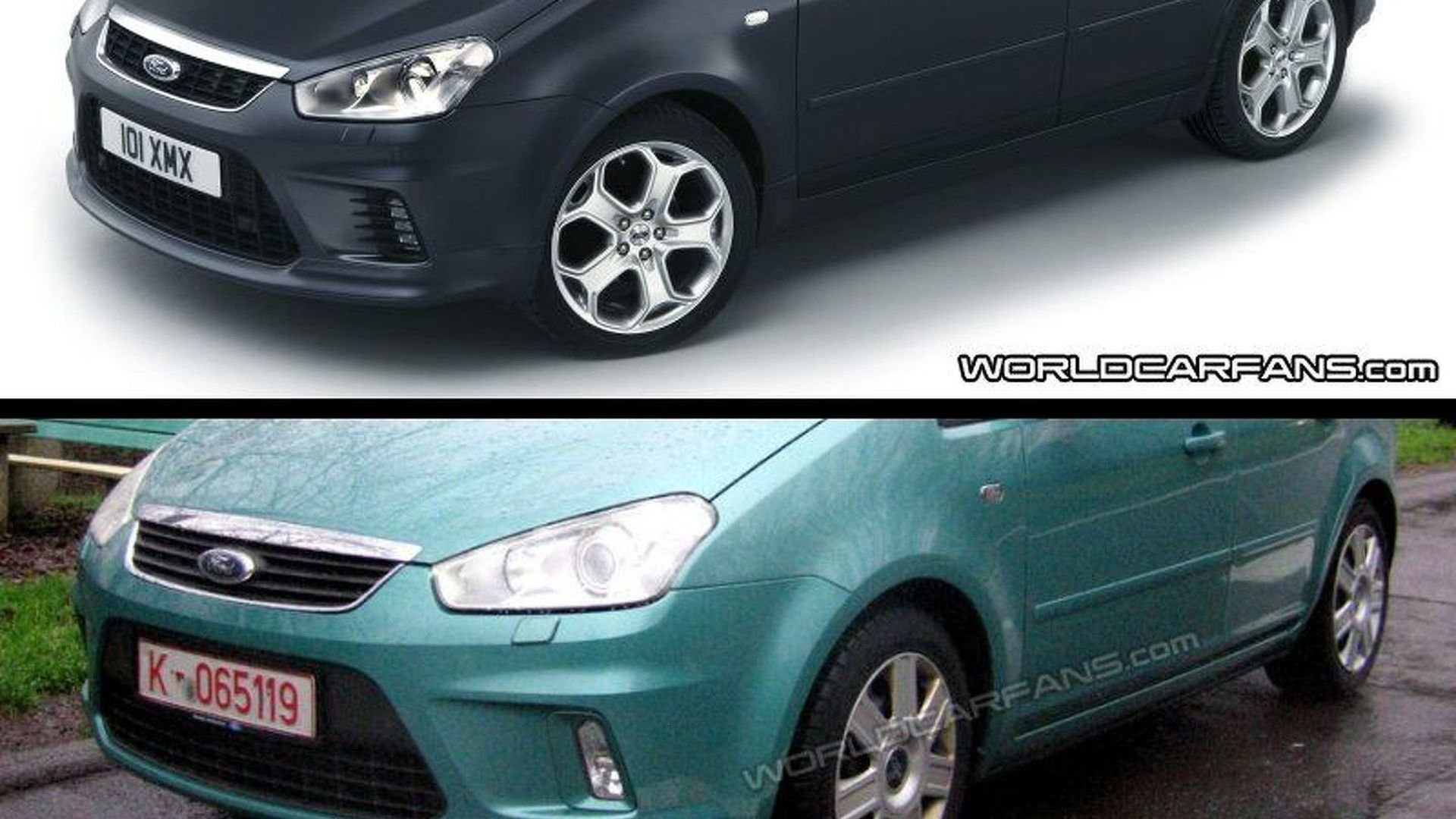 SPY PHOTOS: Ford C-Max Revised - Again