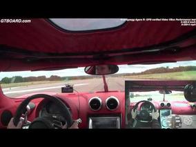 Koenigsegg Agera R 0-322-0 km/h and 0-200-0 mph GPS-verified x 3 uncut