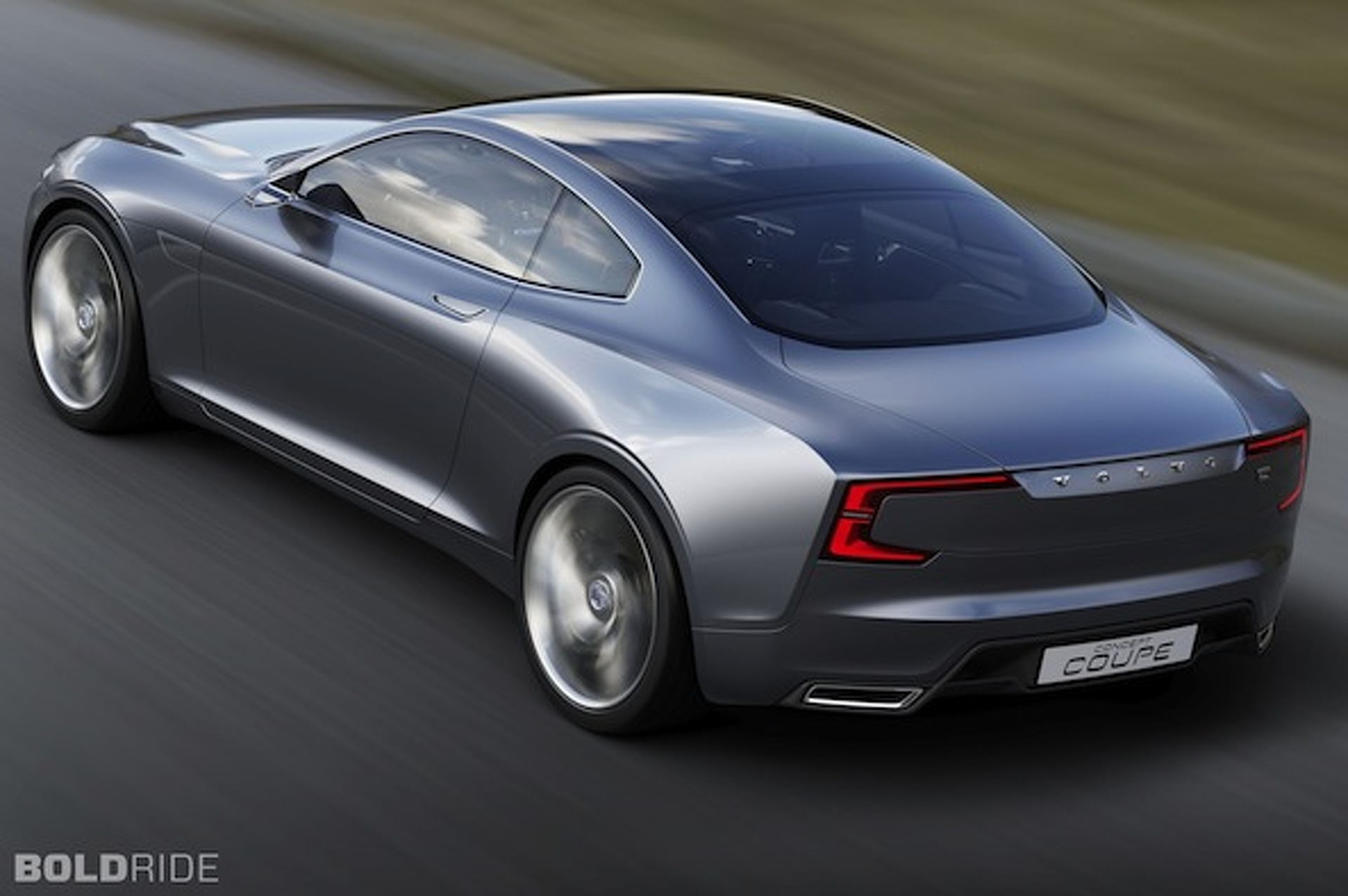 Volvo Concept Coupe Relives Memories of P1800 [w/video]