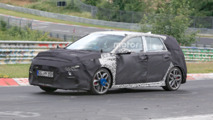 Hyundai i30 N spied lapping the Nürburgring