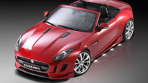 Jaguar F-Type gets restyled by Piecha Design