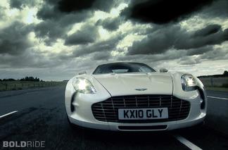 Wheels Wallpaper: 2011 Aston Martin One-77