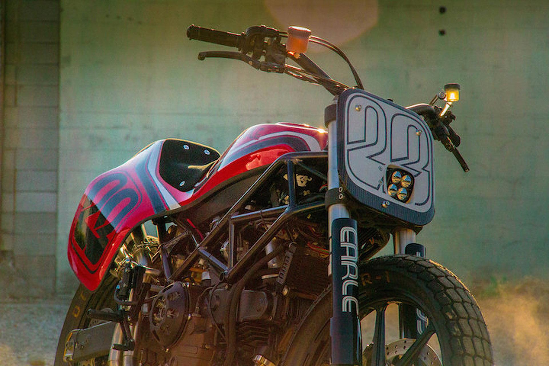 One Volkswagen Designer Created a Custom Ducati Worth Swooning Over