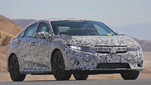 2017 Honda Civic Sedan spy photo