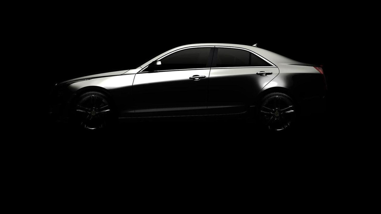 2013 Cadillac ATS teaser image - 4.8.2011