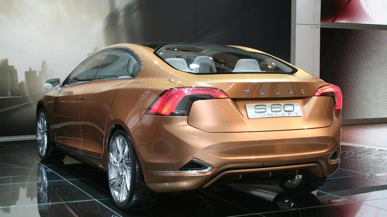 Volov S60 Concept at 2009 Detroit Auto Show