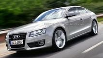 Audi A5 Sportback Artists Rendering