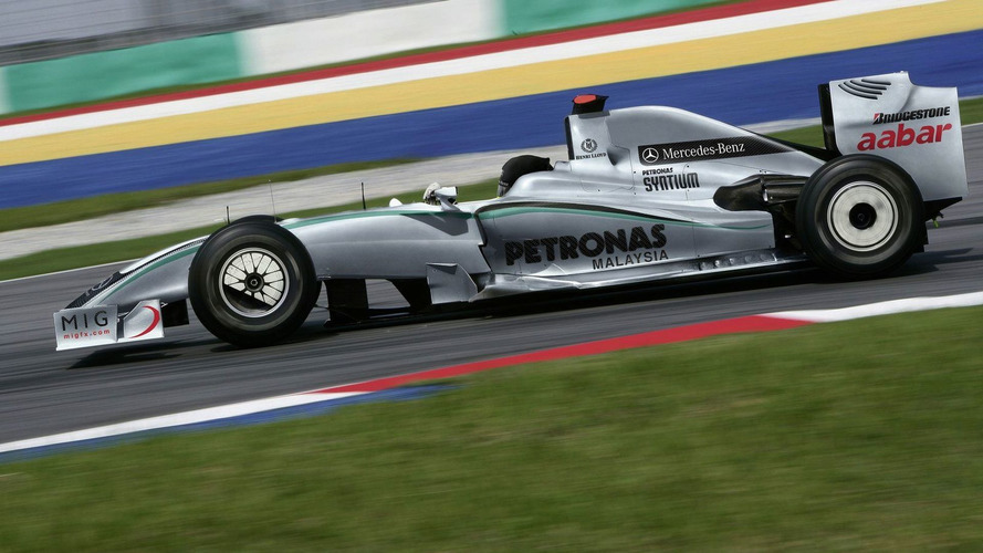 Mercedes GP to show 2010 livery on January 25