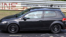 VW BlueSport PQ35 coupe test mule spy photo