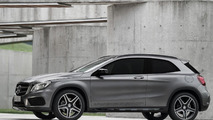 Mercedes-Benz GLA Coupe rendered