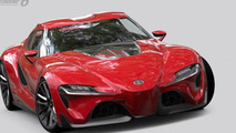 Toyota FT-1 concept in Gran Turismo 6