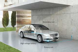 BMW and Mercedes Join Forces on Wireless Car Charging