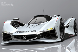 Watch Mazda's LM55 Concept Scream onto Gran Turismo
