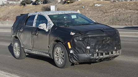 2016 Cadillac XT5 spied, will replace the SRX