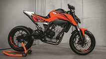 KTM 790 Duke prototype revealed at EICMA 2016