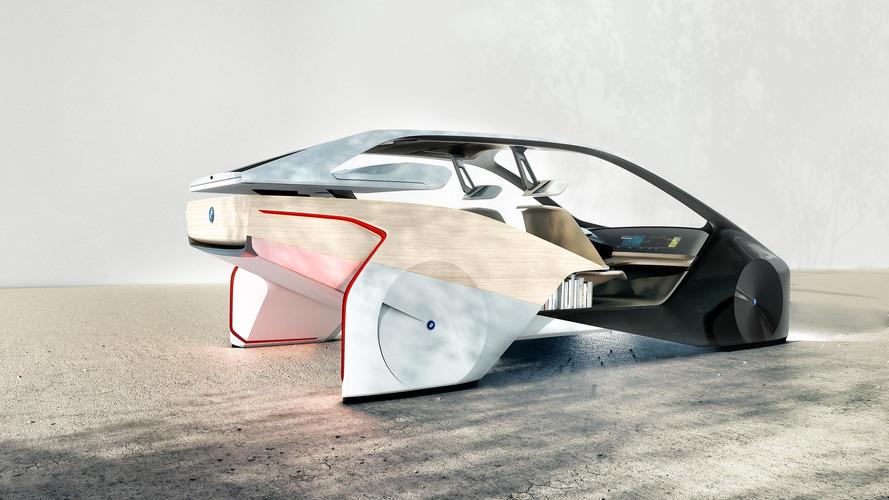CES 2017 - BMW présente l'étonnant concept BMW i Future