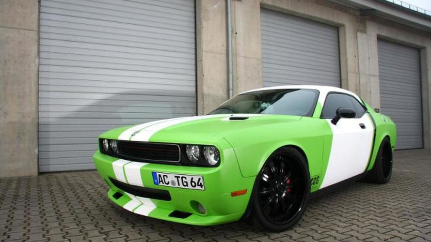 Wrapped Dodge Challenger SRT-8 with 600hp