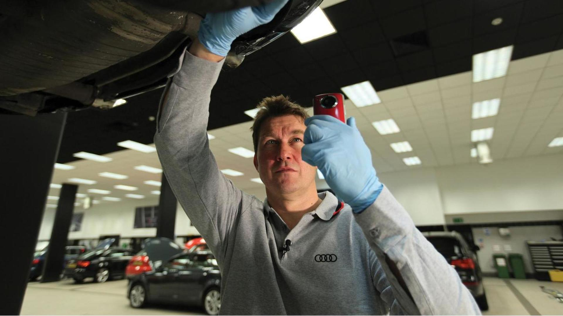 Audi Cam introduced in UK for filming inspections