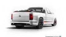 New Volkswagen Amarok R-Style Concept images emerge