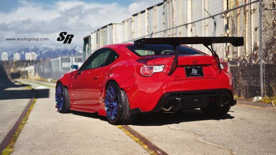 Scion FR-S prepared by SR Auto Group