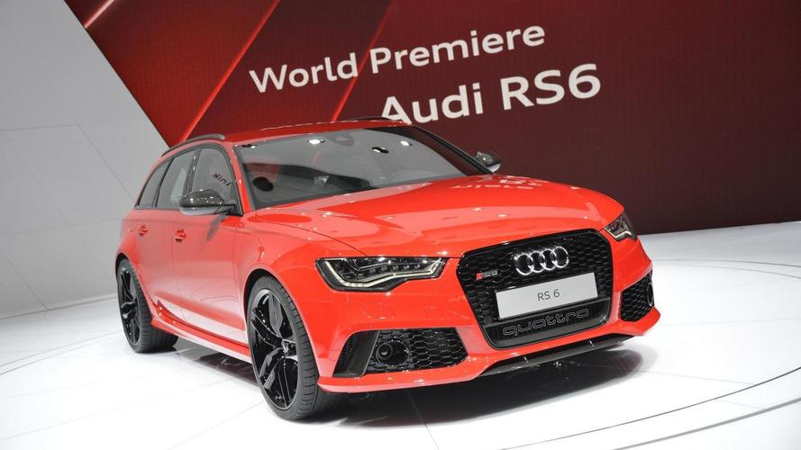 2014 Audi RS6 Avant shines in Geneva