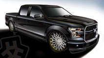 Ford shows off customized F-150's bound for SEMA