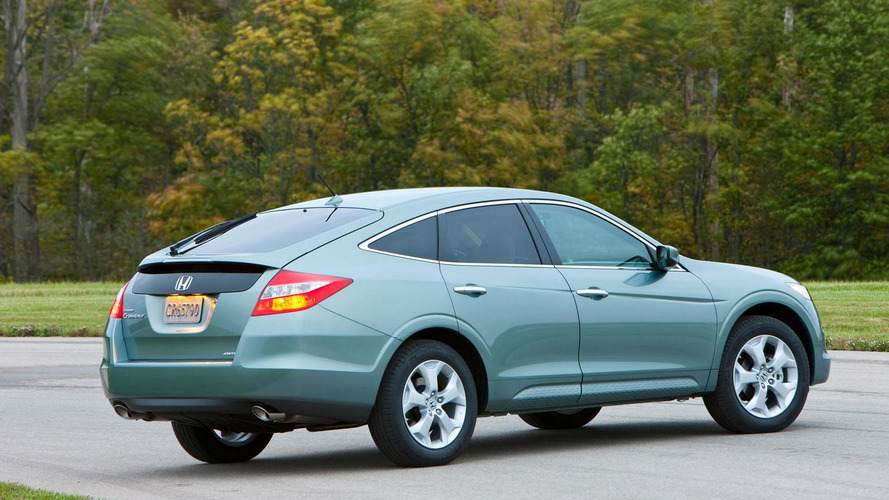 2012 Honda Crosstour gains four-cylinder engine
