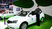 Geely EC7-EV revealed, co-developed with Detroit Electric