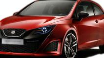 Seat Ibiza Bocanegra Concept Leaked
