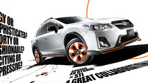 Subaru XV Hybrid tS receives some STI bits