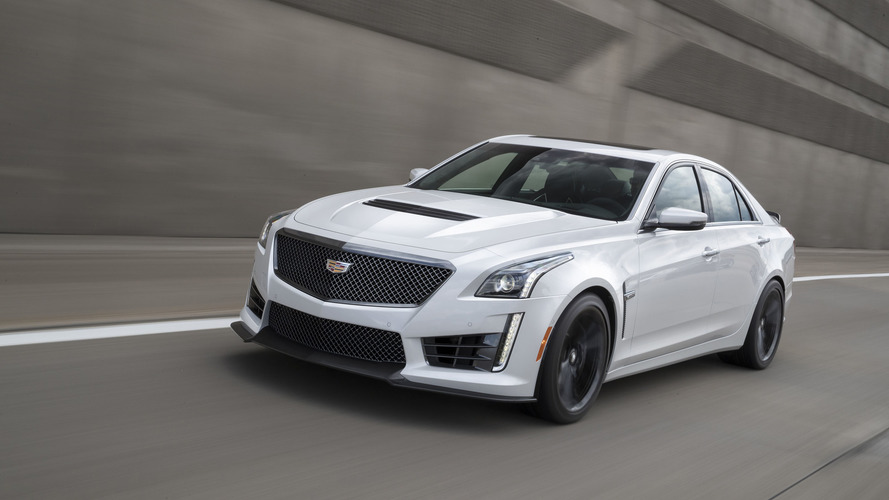 2017 Cadillac ATS and CTS Carbon Black package