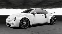Hardcore Volkswagen Beetle imagined with 500+ bhp twin-turbo boxer engine