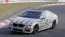 2016 BMW 7-Series spied with M Sport Package for the first time